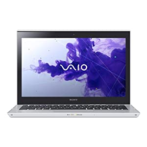 Sony VAIO T Series SVT13134CXS 13.3-Inch Touchscreen Ultrabook (Silver)