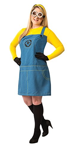 Rubie's Women's Plus Size Despicable Me 2 Female Minion Costume