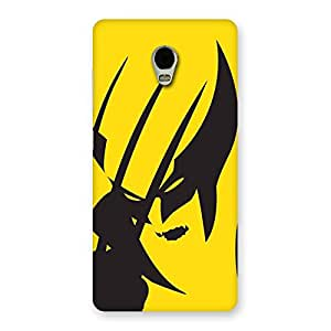 Delighted Wolf Zone Multicolor Back Case Cover for Lenovo Vibe P1