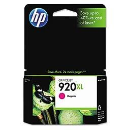 Cd973An (Hp 920Xl) High-Yield Ink 700 Page-Yield - Cd973An (Hp 920Xl) High-Yield Ink, 700 Page-Yield, Magenta