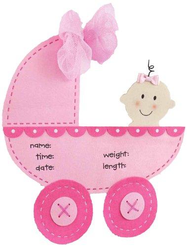 Mud Pie Stroller Door Hanger, Pink