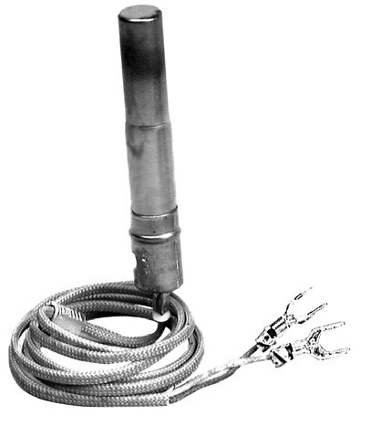 "White-Rodgers 101934F32 General Controls 750 Mv Generator For Use With Pg9 Style Pilot Burners, Armored Cable Leads, F Spade Clip Connector With 32"" Cable"