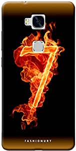Fashionury Printed Back Case Cover For Huawei Honor 5X -Print20325