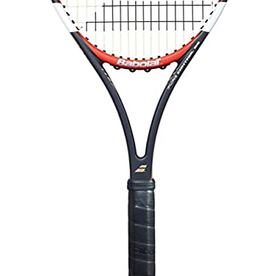 Babolat Pure Control 95 with Gt Un strung Racquet and Pro Xtreme X 200M String Combo Pack Grip: 4.375