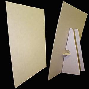 Amazon Com 8 1 2 X 11 Kraft Cardboard Easel Display