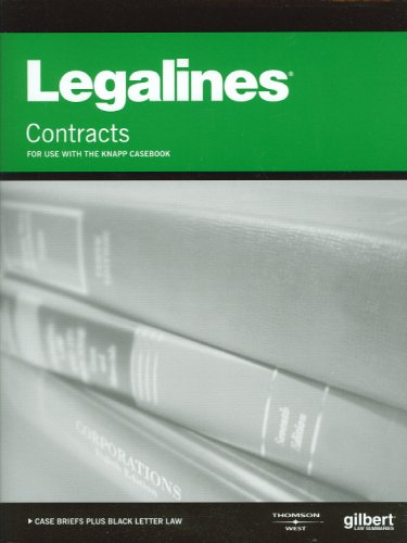Legalines on Contracts, 6th, Keyed to Knapp
