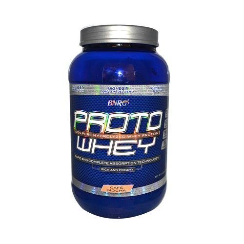 Proto Whey Protein Powder - Cafe Mocha - 2 lbs by BIONUTRITIONAL RESEARCH GROUP