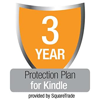 3-Year Kindle Protection Plan with Accident & Theft Cover by SquareTrade, UK customers only