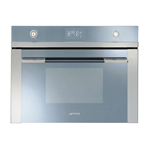 Smeg Linea SF4120VC Built In Oven Combination Steam Stainless Steel