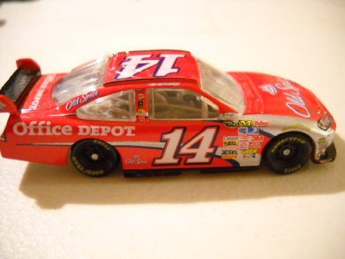 Tony Stewart #14 Old Spice Office Depot 1/64 Scale Car With Mini Replica Diecut Magnet Pit Board Sign Winners Circle 2009 - 1