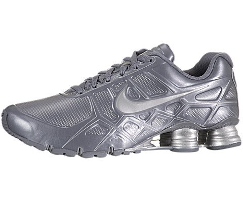 a530d376dd42 Nike Shox Turbo XII Mens Running Shoes 488314 090 Cool Grey 9 M US ...