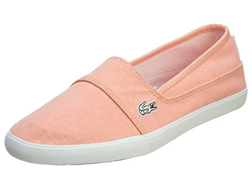 Lacoste Women's Marice ENS Slip-On Light Orange 10 M US