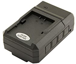 STK's Panasonic CGA-D54 Camcorder Battery Charger - for Panasonic AG-HRX200, AG-DVX100B, AG-DVX100, AG-DVX100A, HDC-Z10000, AG-DVC30, AG-HRX200P, AG-DVC60, AG-DVC80, AG-DVX100BP, AG-DVX100AP, AJ-PCS060G, AG-DVX100BE, NV-DS29, NV-GX7, NV-DS30, NV-DS29EG, A