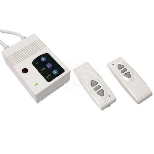 Cablematic - Télécommande pour écran de projection DisplayMATIC IR RF blanche