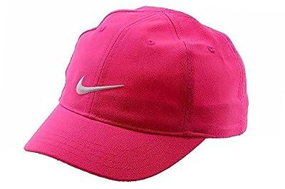 Nike Girl's Embroidered Swoosh Logo Cotton Baseball Cap Sz: 4/6X