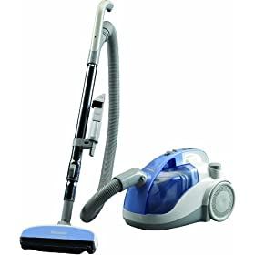 Panasonic MC-CL301 Bagless Canister Vacuum Cleaner, Light blue finish