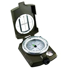 Military Prismatic Sighting Compass w  Pouch by SE