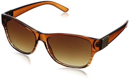 adrienne-vittadini-av1008-plastic-braun-damen-sonnenbrille