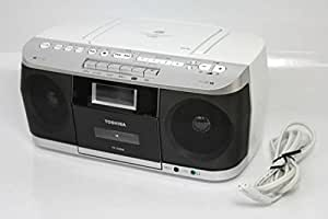 TOSHIBA CUTEBEAT CDラジオカセットレコーダー ホワイト TY-CDS6(W)