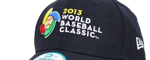 New Era(ニューエラ) WBC オフィシャルロゴ 2013 World Baseball Classic 9FORTY Replica キャップ (ネイビー)