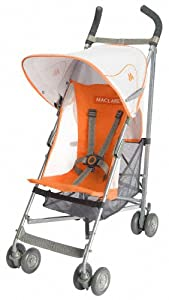 Maclaren Volo Stroller, Orange Flame