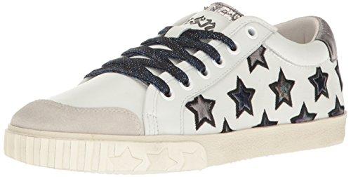아쉬 마제스틱 별 스니커즈 화이트 ASH Womens Majestic Sneaker, Off White/White/Chrome
