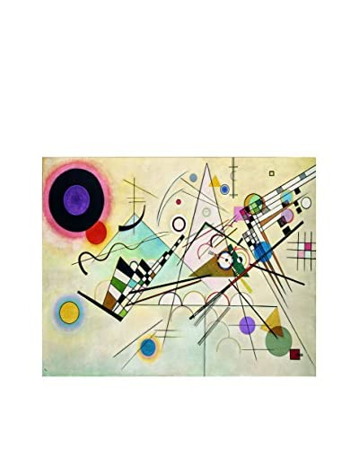 LegendArte Panel Decorativo Sobre Lona Composizione VIII di Vassily Kandinsky