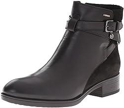 Geox d fELICITY aBX b bottes d'équitation pour femme - Marron - Braun (C9999BLACK), 35 EU