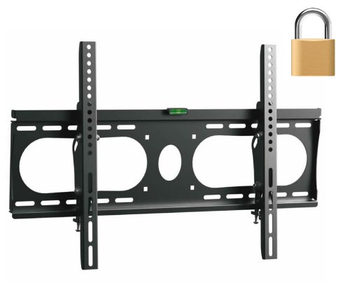 "Installerparts Flat Tv Mount 32~50"" Lockable Tilt Slim Type Wlt102M -- For Lcd Led Plasma Tv Flat Panel Displays -- This Locking Wall Mount Bracket Is Perfect For Hotels Or Outdoor Locations. Fits Samsung, Lg, Vizio, Panasonic, Sony And More!"