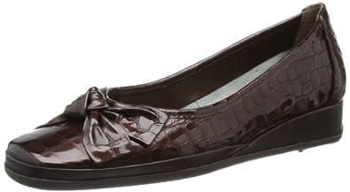 Van Dal Womens Barbados II Loafers 1484340 Brown 3 UK, 36 EU, Wide