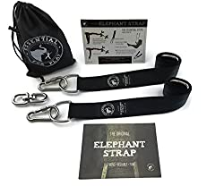 Tree Swing Hanging Strap Kit With Heavy Duty Hardware Great For Swings & Hammocks Each Holds Over 600 Lbs Includes 2 36