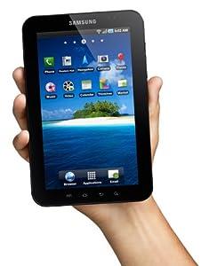 Samsung Galaxy P1000 Tab (17,8 cm (7 Zoll) Touchscreen, 16 GB Speicher, Android 2.2, WLAN, 3G, Videotelefonie) weiß