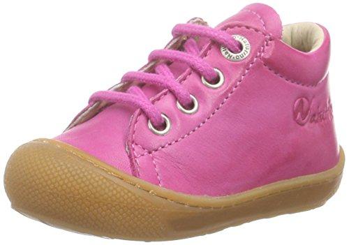 NaturinoNATURINO 3972 - Scarpe da Ginnastica Basse Bambina , Rosa (Pink (NAPPA SPAZZOLATA FUXIA)), 24