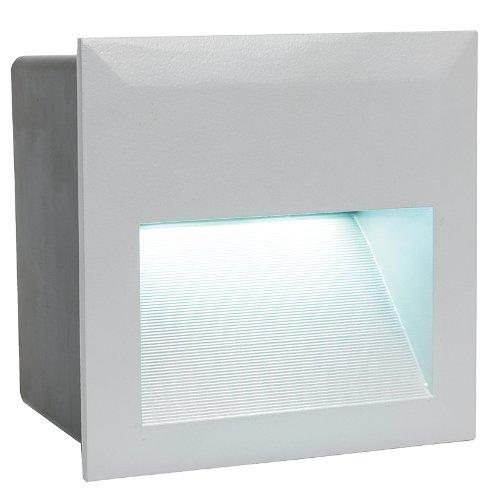 89545 Einbaudownlight, Aluminium, Integriert, weiß