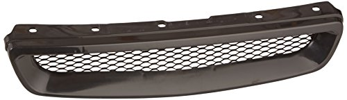 Spec-D Tuning HG-CV96TR Honda Civic Ex Dx Lx Black Type R Style Metal Mesh Front Hood Grille (1998 Honda Hatchback Accessories compare prices)