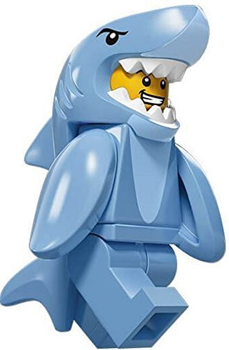 Shark Suit Guy #13 of 16, LEGO® minifiguresTM series 15 set 71011 (*SEALED Retail Packaging) (Lego Suit)