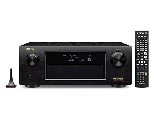 Sale!! Denon AVR-X5200W 9.2 Network A/V Receiver with Wi-Fi, Bluetooth and Dolby Atmos