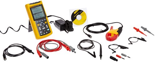Fluke 125/003 Digital Industrial Scopemeter, 40 Mhz Bandwidth, 8.75Ns Rise Time
