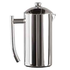 Frieling Ultimo Stainless Steel French Press (23 oz / 0.68 lt / 4 - 5 cup)