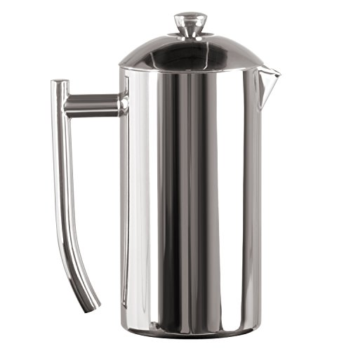 Frieling USA Double Wall Stainless Steel French Press Coffee Maker with Patented Dual Screen, Polished, 23-Ounce (24 Oz French Press compare prices)