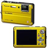 Panasonic Lumix DMC-TS2 14.1 MP Waterproof Digital Camera with 4.6x Optical Image Stabilized Zoom with 2.7-Inch LCD (Yellow) ~ Panasonic