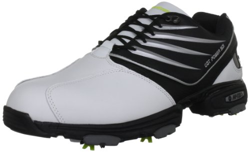 Hi-Tec Men's Cdt Power 501 White/Black Golf Shoe G001783/012/01 8.5 UK, 42.5 EU, 9.5 US