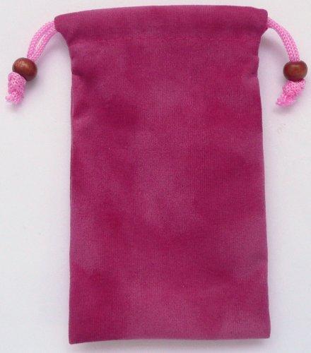 Emartbuy Pink Velvet Case / Cover / Tasche / Socks Passend Für Lg T300 Cookie Lite