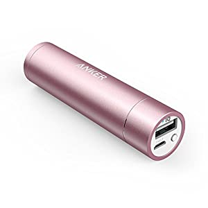 Anker PowerCore+ mini Lipstick-Sized 3350mAh Portable Charger
