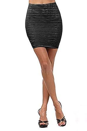 small medium large bodycon slim pencil skirt stretchy
