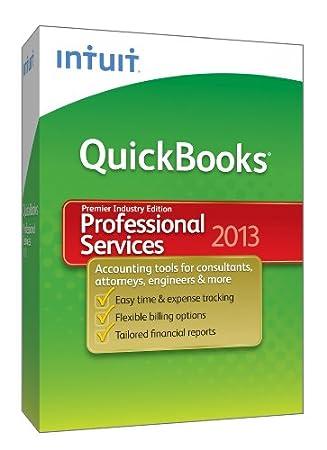 QuickBooks Premier Professional Services 2013