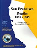 San Francisco Deaths 1865-1905 (Volume I: A-D)