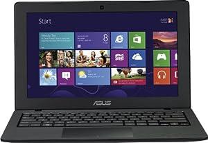 Asus F200CA-KX019H 29,46 cm (11,6 Zoll) Netbook (Intel Celeron 1007U 1,5GHz, 4GB RAM, 500GB HDD, Intel HD Graphics, Windows 8, QWERTZ-Tastatur) schwarz