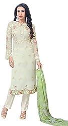 Mahaveer Fashion Women's Dress Material (8311_30_66010_White_Free Size)