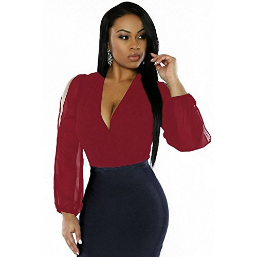 meinice-robe-special-grossesse-femme-rouge-m